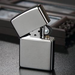 Bật lửa zippo chính hãng đen bóng - Mã SP: ZPC0311