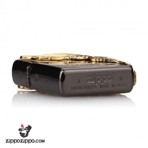 Bật lửa Zippo chính hãng đen phiên bản giới hạn Harley Davidson