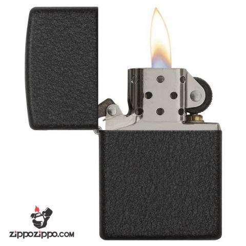 Bật lửa Zippo chính hãng đen sần