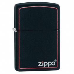 Bật Lửa Zippo chính hãng Đen viền đỏ - Mã SP: ZPC0282