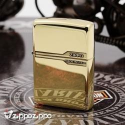 Bật lửa Zippo chính hãng đồng bóng  nhẹ thiết kế cổ điển - Mã SP: ZPC1625