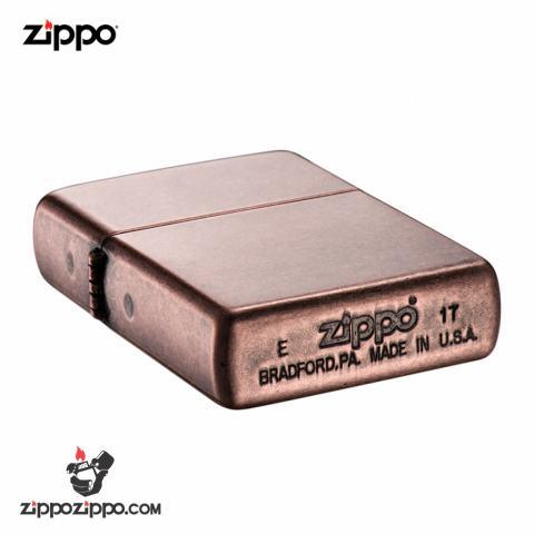 Bật Lửa Zippo Chính Hãng  Đồng Cổ