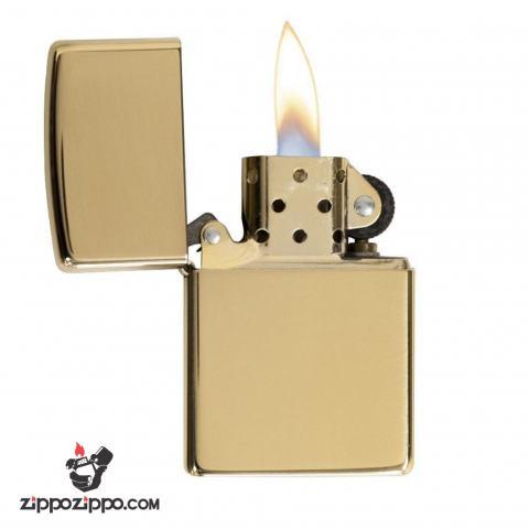 Bật lửa zippo chính hãng đồng trơn 254B