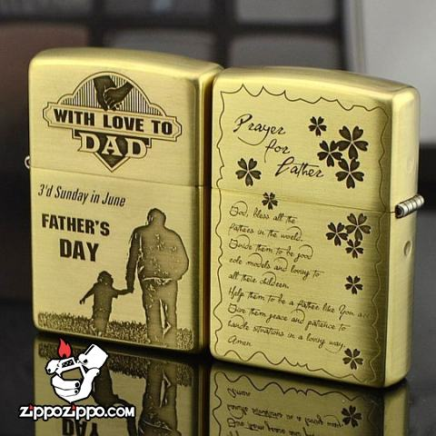 Bật lửa Zippo chính hãng Father Day