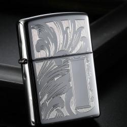 Bật lửa zippo chính hãng khắc hoa văn - Mã SP: ZPC0326