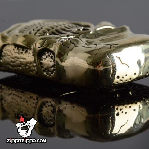 Bật lửa Zippo Chính hãng nguyên khổi Ghost Rider Demon Skull tin Cangyin