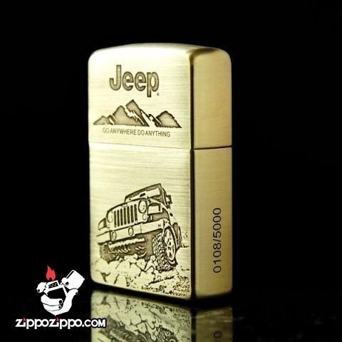 Bật lửa Zippo chính hãng phiên bản giới hạn xe JEEEP