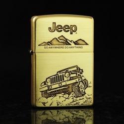 Bật lửa Zippo chính hãng phiên bản giới hạn xe JEEEP - Mã SP: ZPC0066