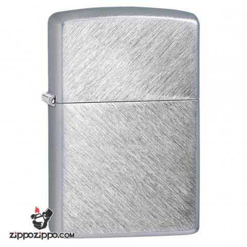 Zippo 24648  chính hãng phiên bản xước đan chéo