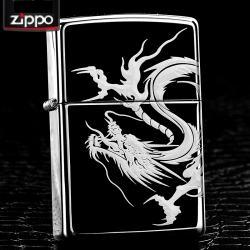 Bật lửa Zippo chính hãng rồng cách điệu quấn xung quanh - Mã SP: ZPC0047