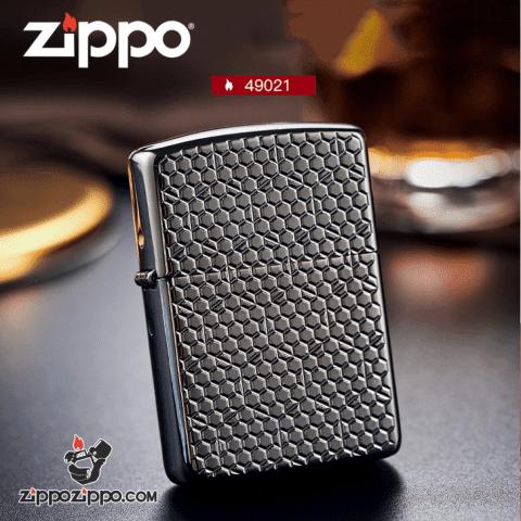 Bật Lửa Zippo Chrome Huyền Băng
