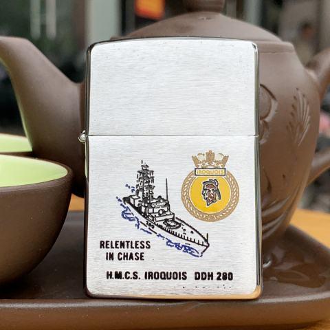 Bật Lửa Zippo Tàu Chiến HMCS Iroquois DD280 1994