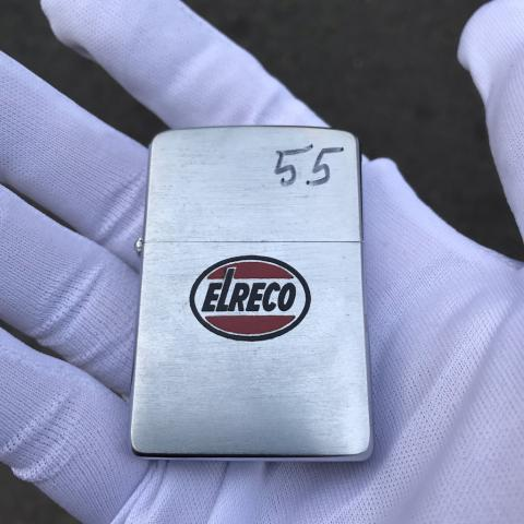 Bật lửa Zippo in logo ELRECO sản xuất năm 1955 (cái)