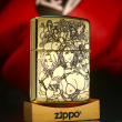 Bật Lửa Zippo Khắc Couple Sexy Girl Bản Armor Ver.3