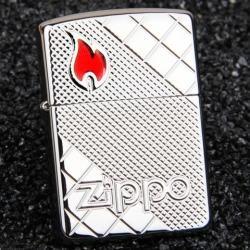 Bật lửa Zippo phiên bản caro vát chéo hai bên Amor giới hạn - Mã SP: ZPC0891