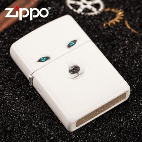 Bật lửa Zippo phiên bản Genuine trắng