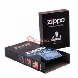 Hộp đựng zippo kiêm phụ kiện - Mã SP: ZPC0239