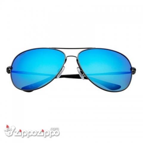 Mắt Kính Zippo Blue Reflective Polarized Pilot Sunglasses - OG13-02