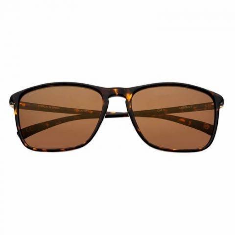 Mắt kính Zippo Brown Polarized Rectangular Sunglasses - OG08-01