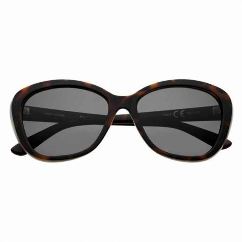 Mắt Kính Zippo Dark Green Polarized Oval Sunglasses - OG11-03