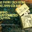 Nhận Thiết kế chế tác zippo theo phong cách riêng của mỗi người đẻ dành tặng cho người thân cũng như bạn bè . Siêu Độc - SIêu Chất - Siêu Lạ