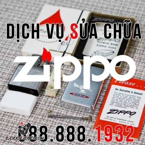 Thay chốt bản lề zippo ( Chốt đặc chính hãng )