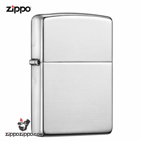 Zippo 26 - bật lửa zippo chính hãng bạc nguyên khối trơn bóng vỏ dày