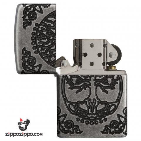 Zippo 29670 – Zippo Armor Multicut Tree of Life Antique Silver