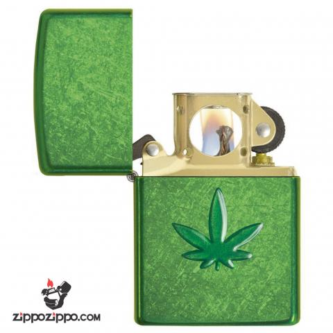 Zippo 29673 – Zippo Pipe Stamped Weed Leaf Meadow