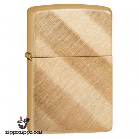 Zippo 29675 – Zippo Diagonal Weave Brass