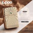 Zippo Armor khắc  biểu tượng của Kim tự tháp Ai Cập gắn Viên pha lê Swarovski