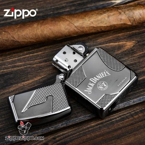 zippo armor nhãn hiệu rượu jack daniel's