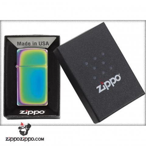 Zippo Chính Hãng 7 Màu Bản Hẹp