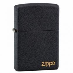 Zippo Chính Hãng Đen Sần có Logo ZP - Mã SP: ZPC0278ZL