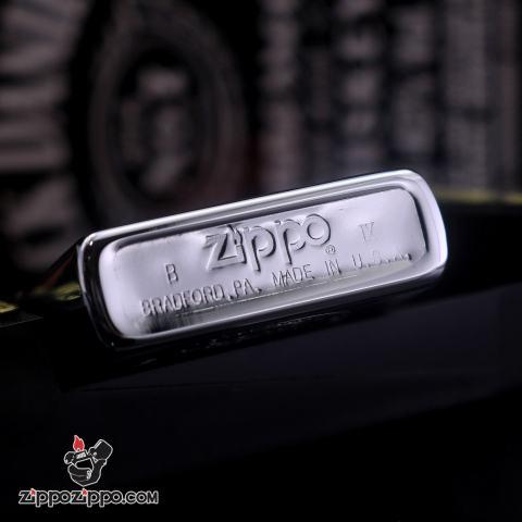 Zippo Cổ 40 year anniversary 1932-1972 Màu Bạc Sản Xuất Năm 1993