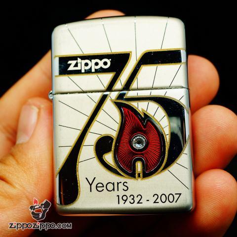 Zippo cổ 75 năm (1932-2007) bản Armor Limited