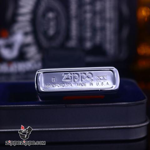 Zippo Cổ bạc bóng biểu tượng Rockies năm 1999