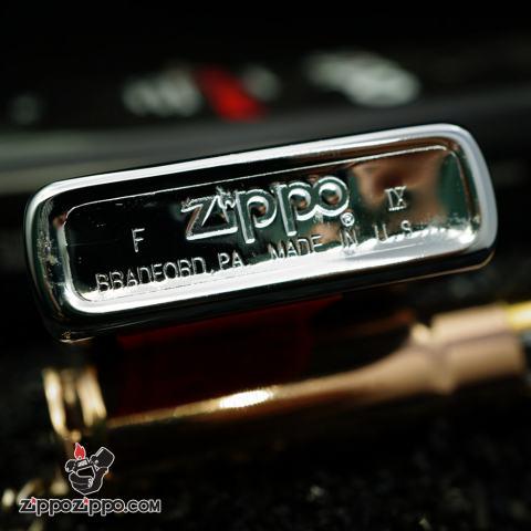 Zippo Cổ Mạ Chrome In Chữ Ky và Chân Dung Huấn Luyện Viên 1993