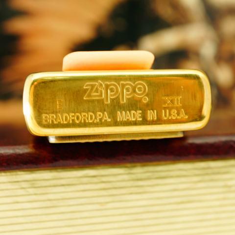 Zippo đời La Mã lịch sử chiến tranh DESERT FOX sản xuất 1996