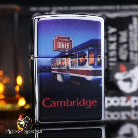 Zippo đời la mã sản xuất 1996 Cambridge diner