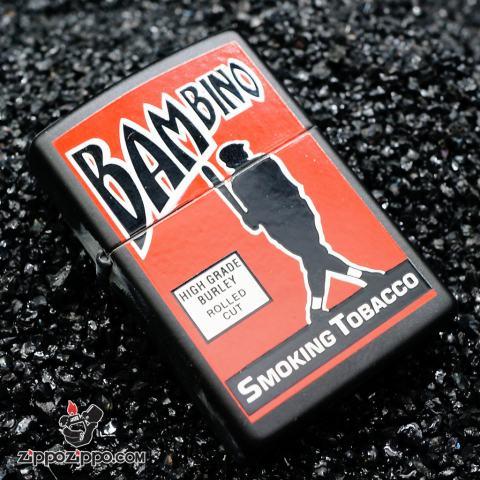 Zippo đời la mã sản xuất 1999 BAMBINO