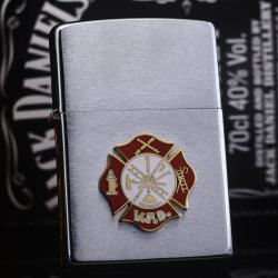 Zippo đời la mã sản xuất 2000 huy hiệu lính cứu hỏa - Mã SP: ZPC2263-8