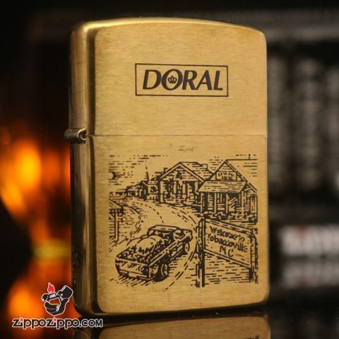 Zippo đời la mã sản xuất năm 1996 DORAL