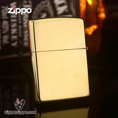 Zippo Đồng Nguyên Khối Khắc AMERICAN CLASSIC Ver.4