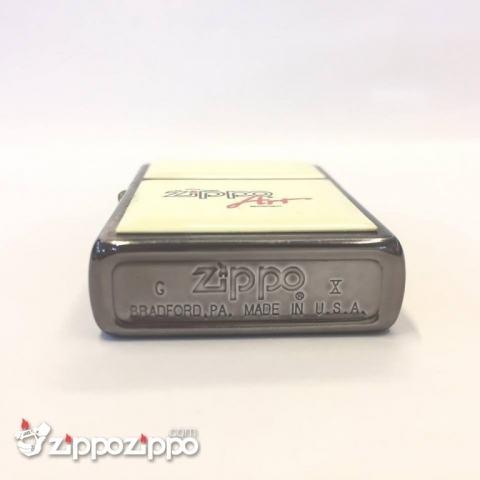 Zippo la mã đính đá khắc zippo air sản xuất năm 1994