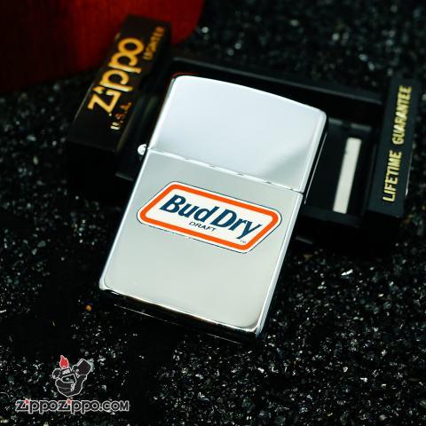 Zippo La mã hãng bia Bud Dry