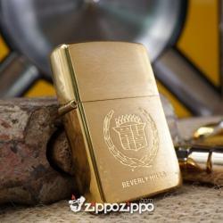 Zippo Vàng hiệu Xe XII - Mã SP: ZPC1403